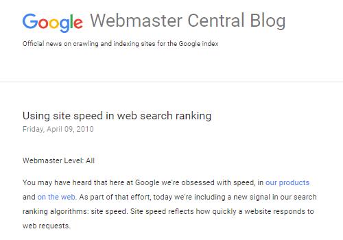 出典:Google Webmaster Central Blog