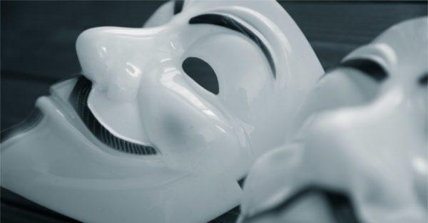 アノニマスの仮面